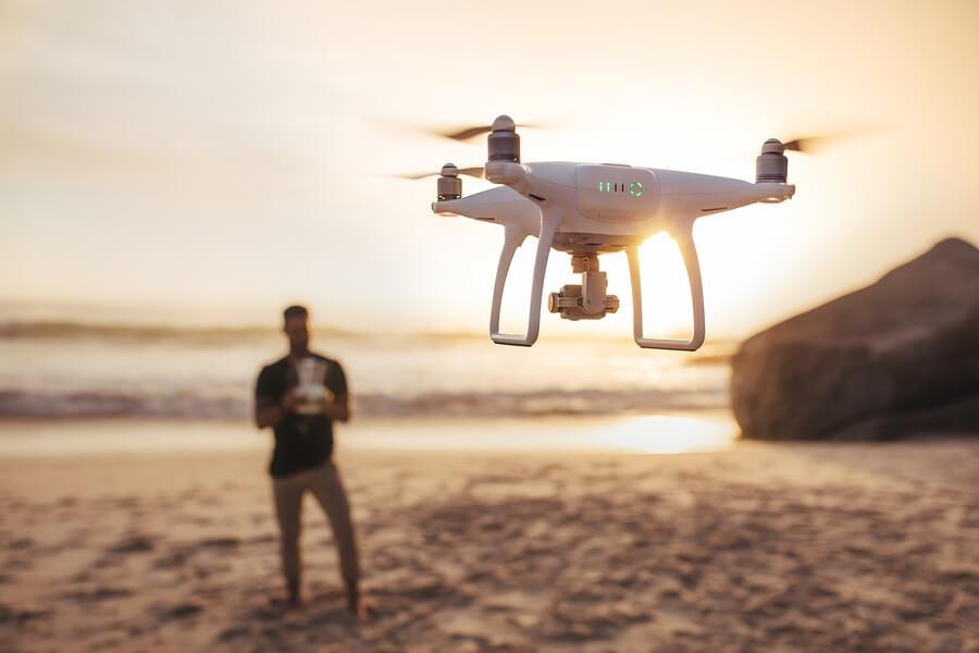 Commander test drone dji phantom 3 et avis le drone